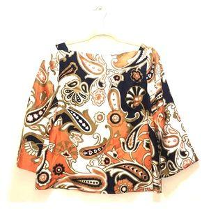 J. Crew 100% silk blouse